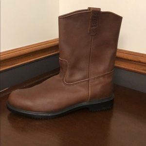 Men's Red Wing steel toe boots
